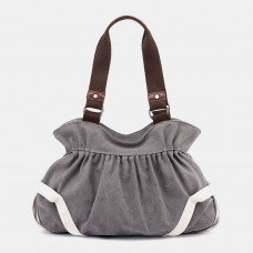Women Vintage Simple Retro Canvas Bag Handbag Shoulder Bag