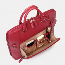 Women Design Solid Handbag Multifunction Crossbody Bag