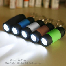 5X 0.3W 25Lm Pocket Mini Torch Usb Rechargeable Led Light Fl