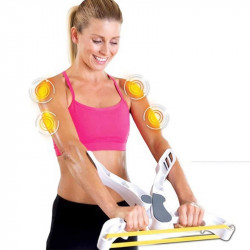 Women's Arm Muscle Training Hand Gripper Spring Exerciser Home Sports Fitness Exercise Tools