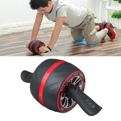 ABS Abdominal Wheel Roller Mute Home Sports Fitness Strength Muscle Training Tools