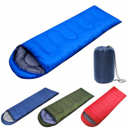 IPRee Waterproof 210x75CM Sleeping Bag Single Person for Outdoor Hiking Camping Warm Soft Adult Home Suit Case
