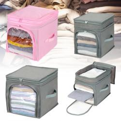 Foldable Storage Bags Clothes Blanket Quilt Closet Sweater Organizer Box Pouch Clothes Storage Bag
