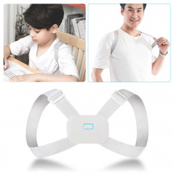 Intelligent Vibration Reminder Back Waist Posture Corrector Back Kids Adult Health Benefits Posture Trainer