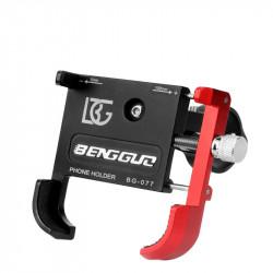 BIKIGHT Bike Phone Holder Aluminum Alloy 55-100mm Bike Motorcycle Phone Mount Support Bracket