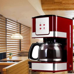 Household Office American Style Drip 6Cup Tea Coffee Making Machine Coffee Machine 550W