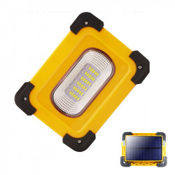 XANES 30A 60W 1200LM Solar/USB Rechargeable COB LED Work Light Magnetic LED Floodlight Spot Flashlight Power Bank
