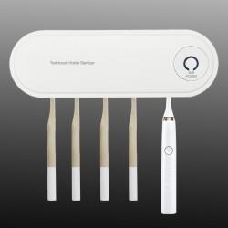 UV Light Sterilizer Toothbrush Holder Drying Cleaner Disinfection Sterilization