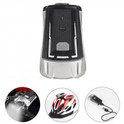 WHEEL UP 300LM XPG LED Bike Front Light 4 Modes USB Charging Night Warning Light Cycling Climbing