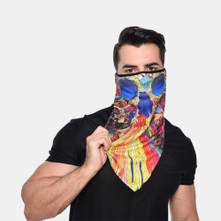 Windproof Sunscreen Quick-drying Breathable Riding Scarf Bandana Balaclava Neck Gaiter Neck Tube UV Resistant Quick Dry Lightweight Materials Cycling Polyester Adults