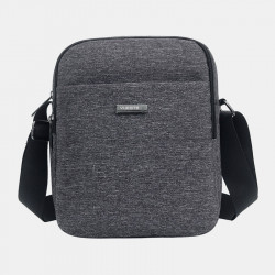 Men Waterproof Nylon Casual Shoulder Bag Crossbody Bag For Outdoor