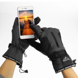 Winter Waterproof Touch Screen Bike Glove Snowboard Cycling Thermal Gloves