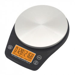 6.6lb/3kg 2.4-inch LCD Display Portable Digital Scale Coffee Scale Kitchen Timer Food Diet Post Room Office Balance Weight Scales