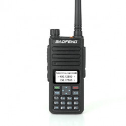 BAOFENG H6 Dual Band Handheld Radio Walkie Talkie Driving Hotel Civilian Interphone Intercom