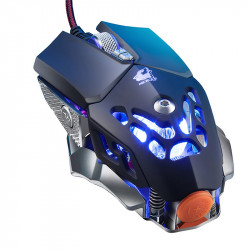 Freewolf V9 2400DPI 6 key Macro Programming Gaming Mouse LED Cable Backlight Professional Game Mouse for PC Laptop