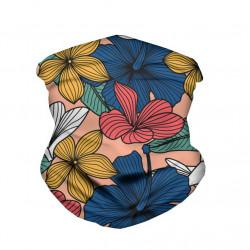 Elastic Lightweight Breathable Turban Summer Anti-UV Printed Bandanas Scarf Neck Gaiter