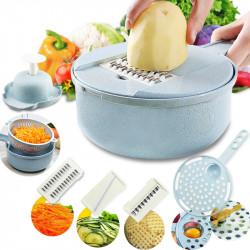 Vegetable Cutter with Steel Blade Mandoline Slicer Fruit Grater Slicer for Kitchen Cutting Tool