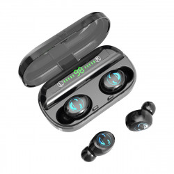 TWS Wireless Earbuds bluetooth 5.0 Earphone CVC8.0 Noise Cancelling HD Mic 4500mAh Power Bank Headphone