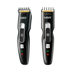 VGR Hair Clippers For Men Cordless Hair Clippers Beard Trimmer Waterproof Rechargeable Hair Cutting EU Plug V-040