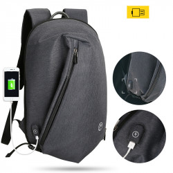 Mark RYDEN Anti Theft USB Backpack 15.6inch Laptop Bag Shoulder Bag Camping Travel Rucksack