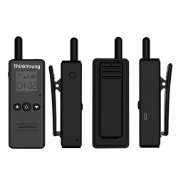THINKYOUNG T8 45g Mini Ultra Thin Handheld Radio Walkie Talkie Hotel Driving Civilian Interphone Intercom
