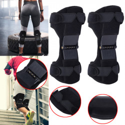IPRee 1 Pair Upgraded Knee Protection Booster Breathable Joint Brace Knee Pad Mountaineering Squat Protector
