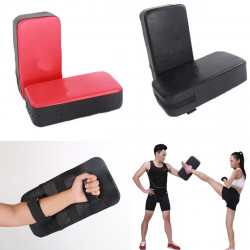 1 Pair PU Thicken Karate Taekwondo Boxing Kick Target Punch Pad Fitness Gym Exercise Foot Hand Target