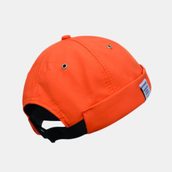 Street Sailor Brimless Hats Melon Hat Trendy Retro Eaves Quick-drying Landlord Hat