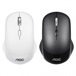 AOC MS410 2.4GHz Wireless Mouse 4 Buttons 2000DPI Gaming Mouse with USB Receiver for Home Office
