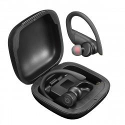 B5 TWS True Wireless Stereo Earbuds bluetooth 5.0 Ear Hook Earphone LED Display Headphones with Charging Case