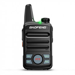 Baofeng T99 Mini Ultra Thin Radio Walkie Talkie USB Charging Flashlight Civilian Intercom