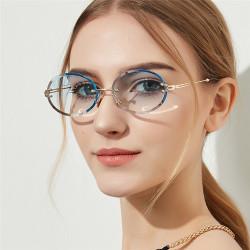 Women's Vintage Oval Sunglasses