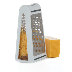 Kitchen Mini Vegetable Slicer Cheese Grater Potato Double-sided Grater Stainless Steel Grater for Cheese Vegetables