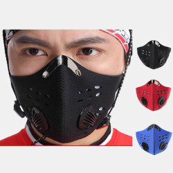 Face Shield Mask Activated Carbon Anti-flu Smoke PM2.5 Mask
