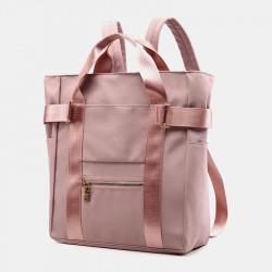 Women Light Weight Large Capacity Waterproof Nylon Backpack Handbag