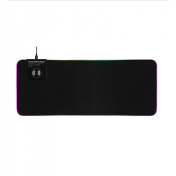 GMS-X10 RGB Light Gaming Mouse Pad 3 in 1 Fast 10W Wireless Charging Keyboard Mat with Wireless Charger