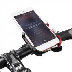 GIYO Aluminum Alloy Rotatable Bicycle Bike Phone Holder MTB Mountain Road Bike Handlebar Clip Holder Bike Bicycle Accessory Tool