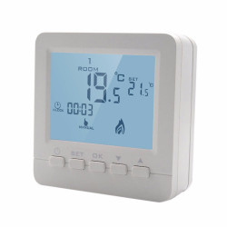 LCD Gas Boiler Heating Temperature Controller Programmable Digital Thermometer Wall Mounted Thermostat Thermoregulator