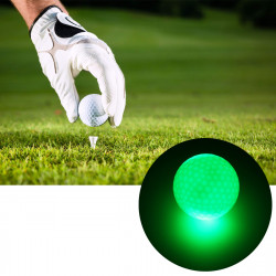 6 Pcs 1.6inch LED Golf Balls Dark Night Luminous Sports Ball