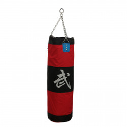 Zooboo 3ft Unfilled Heavy Punch Sandbag Chain Punchbag Kickbag Kick Boxing MMA Hang Target Bag