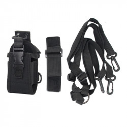Multifunctional Tactical Walkie Talkie Storage Bag Interphone Bag Intercom Radio Case Holder Pouch Bag
