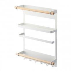 Kitchen Magnetic Storage Rack Fridge Rack Side Shelf Sidewall Holder Organizer Kitchen Storage Container