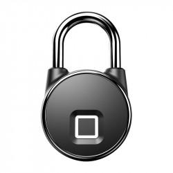 IPRee Smart Fingerprint Lock USB Charging Bicycle Lock IP65 Waterproof Anti Theft Luggage Suitcase Bag Security Lock