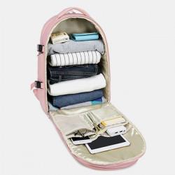 Women Multifunction Waterproof Casual Travel Backpack