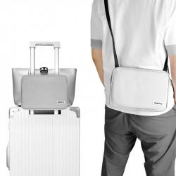 ZHIFU 2 In 1 Luggage Fixing Bag Multifunctional Waterproof 9.7inch Crossbody Bag Camping Travel Shoulder Bag