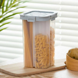 Transparent Sealed Storage Box Crisper Grains Food Storage Tank Household Kitchen Cans Containers Bottles