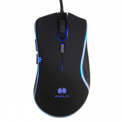 2400 DPI USB Wired RGB LED 4 programmable keys Gaming mouse for PC Laptop
