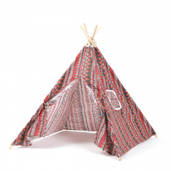 Indoor Foldable Teepee Kids Fun Portable Practice Trainer Tent Birthday Toys