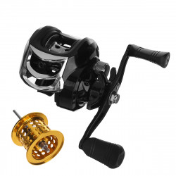 ZANLURE Mini Metal 18+1 Ball Bearings 7.1:1 Gear Ratio Left Right Hand Fishing Reel High Speed Fish Wheel