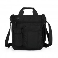 Multi-Pockets Expandable Business Laptop Tote Men Briefcases Crossbody Hiking Bag Waterproof Shoulder Bag